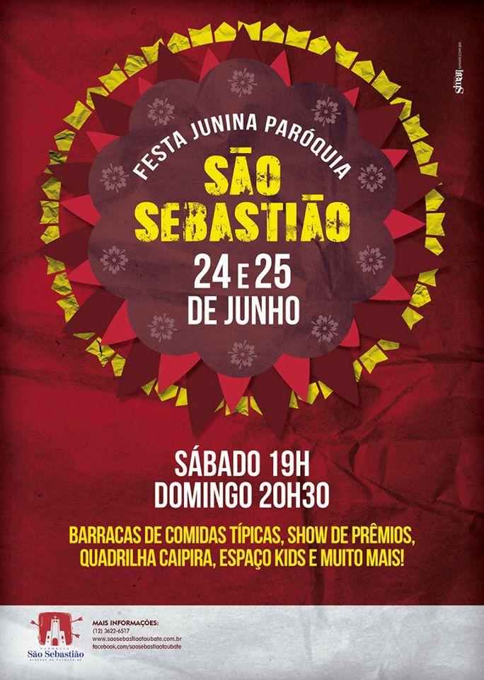 Participe da Festa Junina 2017